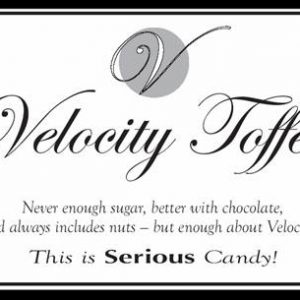 Velocity Toffee (shipped by Priority Mail)